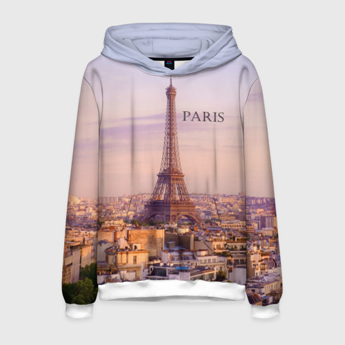Мужская толстовка 3D Париж
