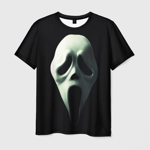 Мужская футболка 3D Крик