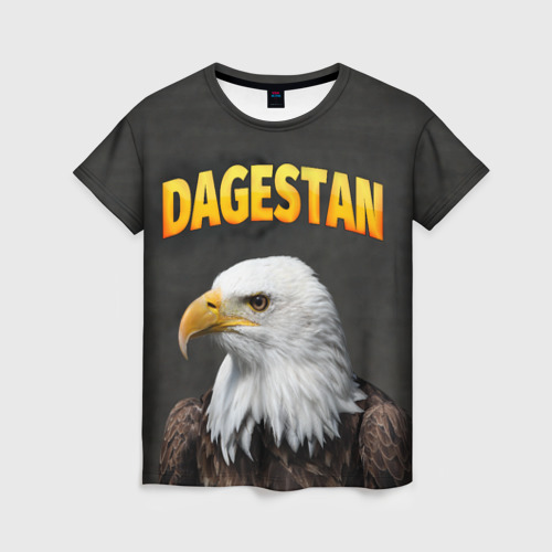 Женская футболка 3D Дагестан 3