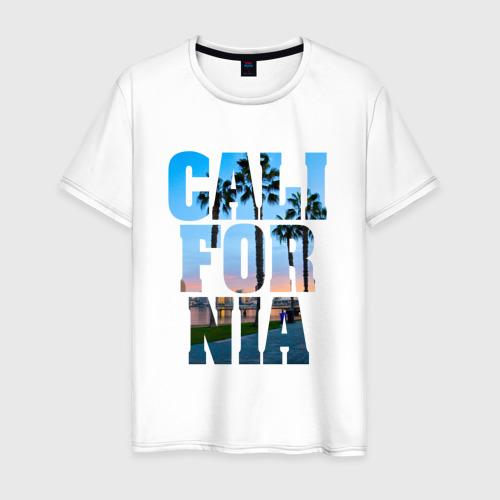 Мужская футболка хлопок Калифорния 2