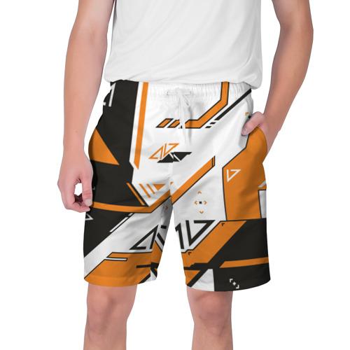 Мужские шорты 3D cs go Asiimov