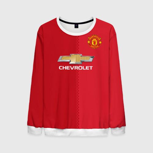 Мужской свитшот 3D Манчестер Юнайтед форма