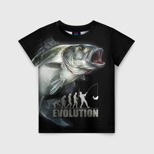 Детская футболка 3D Эволюция