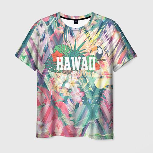 Мужская футболка 3D HAWAII 5
