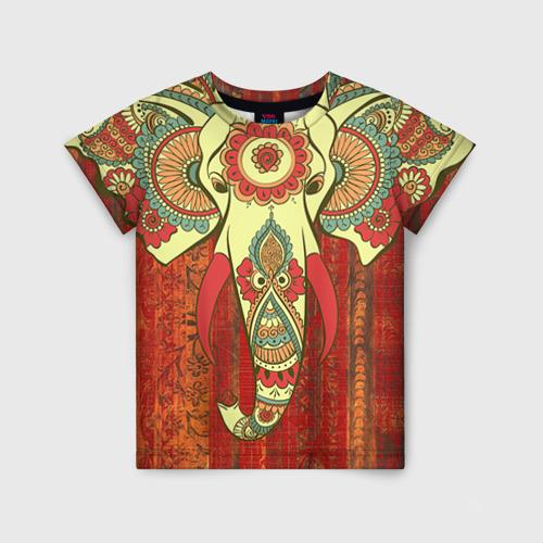 Детская футболка 3D Индия 4