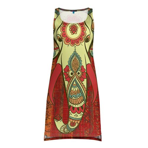 Платье-майка 3D Индия 4