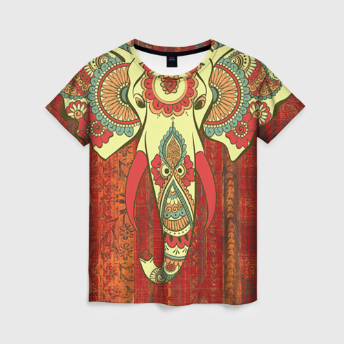 Женская футболка 3D Индия 4