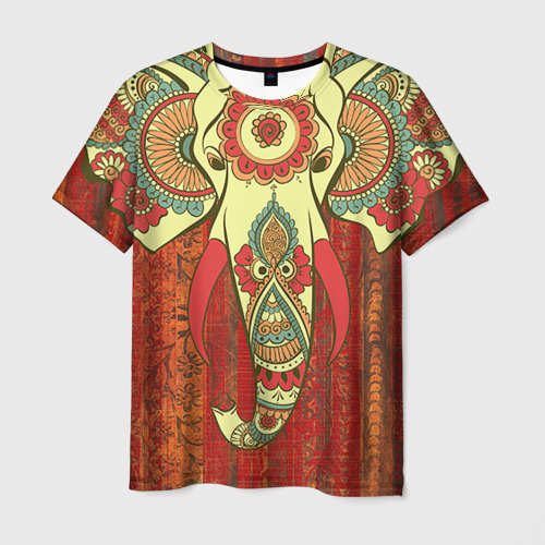 Мужская футболка 3D Индия 4