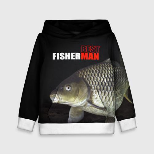 Детская толстовка 3D Лучший рыбак