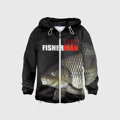 Детская ветровка 3D Лучший рыбак