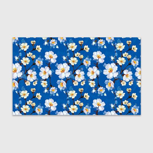 Бумага для упаковки 3D Цветы ретро 5