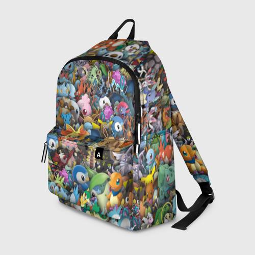 Рюкзак 3D Покемоны. Стикербомбинг