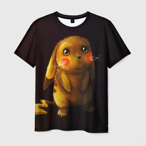 Мужская футболка 3D Пика-Пика?