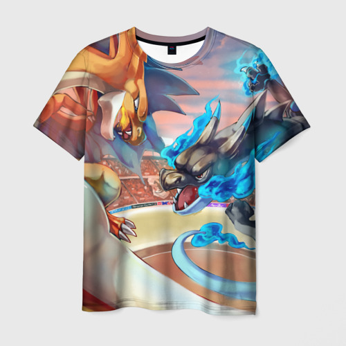 Мужская футболка 3D Pokefight