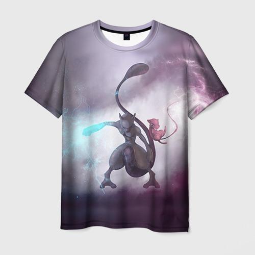 Мужская футболка 3D Покемон