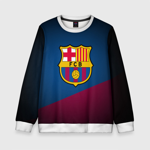 Детский свитшот 3D ФК Барселона