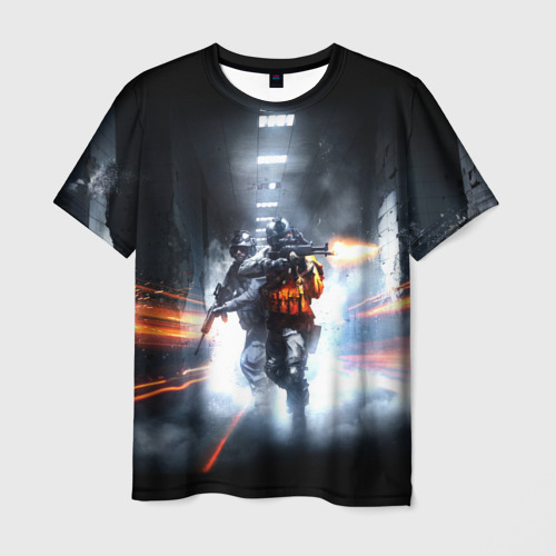 Мужская футболка 3D Миротворцы