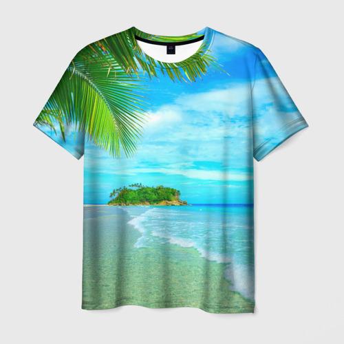 Мужская футболка 3D Лето