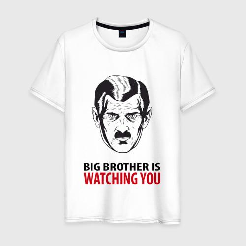 Мужская футболка хлопок Big Brother is watching you