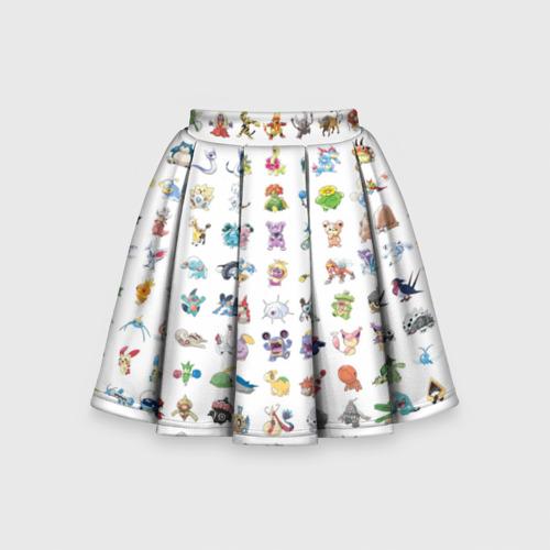 Детская юбка-солнце 3D Wall