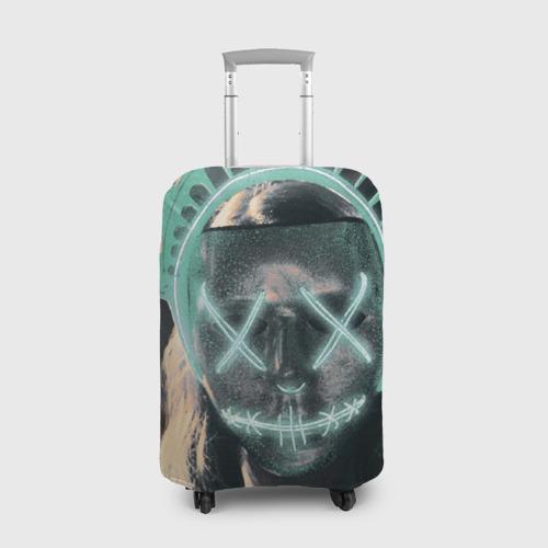 Чехол для чемодана 3D Судная ночь 3