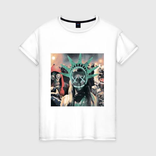 Женская футболка хлопок Судная ночь 3