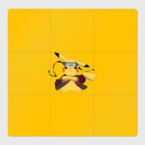 Магнитный плакат 3Х3 Pikachu (Naruto Sage Mode)