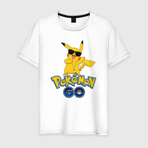 Мужская футболка хлопок Pokemon GO