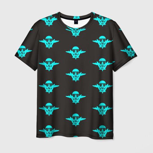 Мужская футболка 3D ВДВ лого
