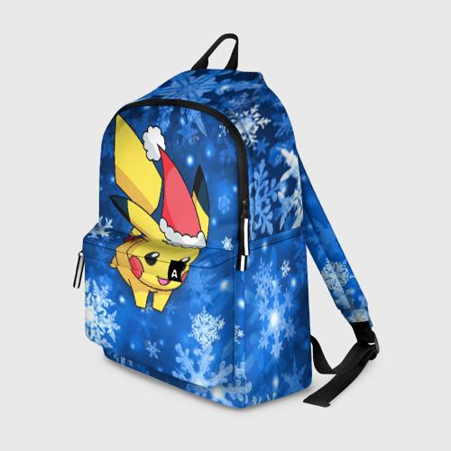 Рюкзак 3D Новогодний Пикачу