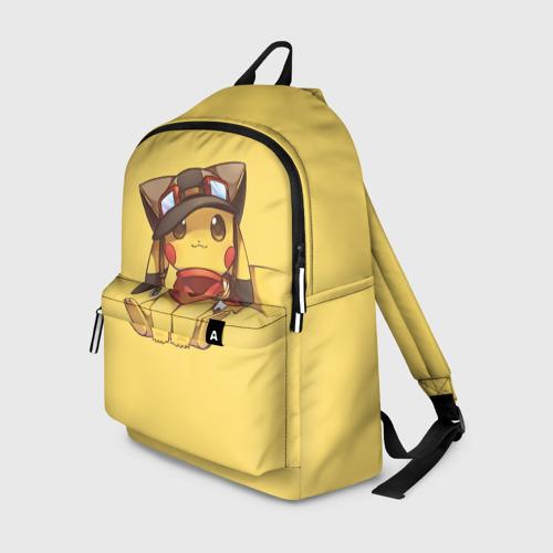 Рюкзак 3D Пикачу в шапочке