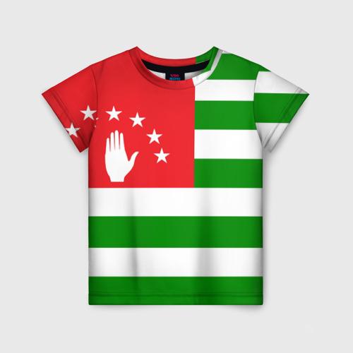 Детская футболка 3D Абхазия