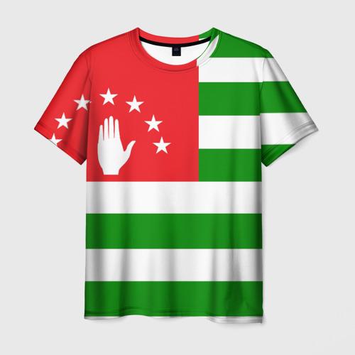 Мужская футболка 3D Абхазия