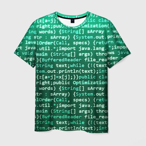 Мужская футболка 3D Программирование 8