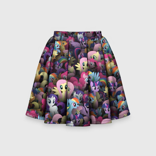 Детская юбка-солнце 3D My Little Pony. Персонажи