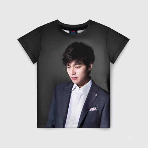Детская футболка 3D Lee Min Ho