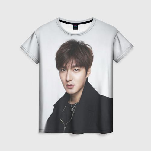 Женская футболка 3D Lee Min Ho