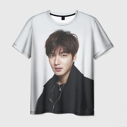 Мужская футболка 3D Lee Min Ho