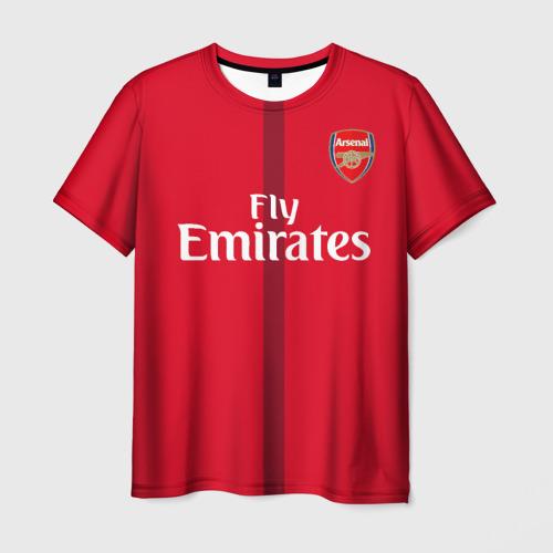 Мужская футболка 3D Арсенал (форма)