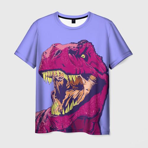 Мужская футболка 3D rex