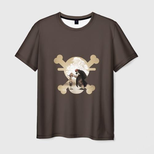 Мужская футболка 3D Черепушка One Piece