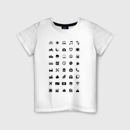 Детская футболка хлопок Iconspeak