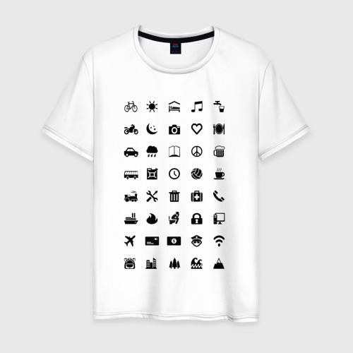Мужская футболка хлопок Iconspeak