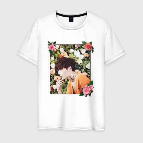 Мужская футболка хлопок Ли Чон Сок