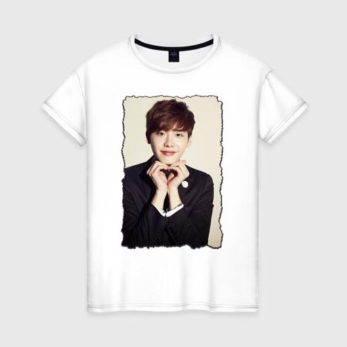 Женская футболка хлопок Ли Чон Сок