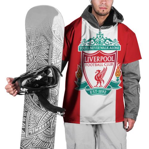 Накидка на куртку 3D Liverpool FC