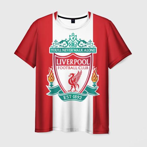 Мужская футболка 3D Liverpool FC