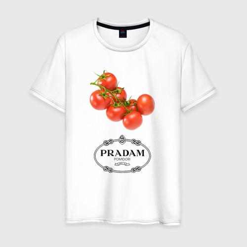 Мужская футболка хлопок PRADAM