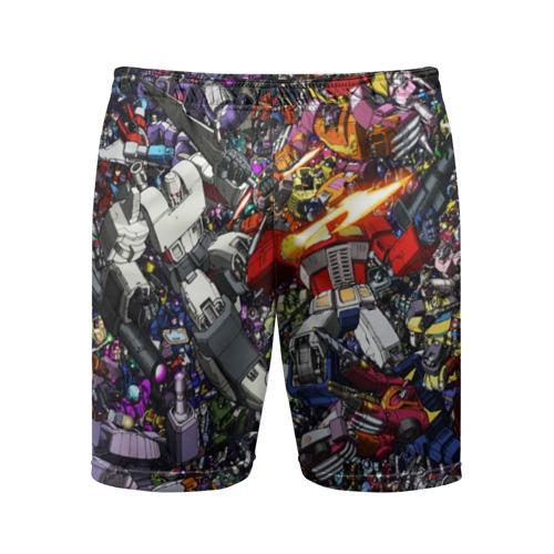 Мужские шорты спортивные Transformer Art