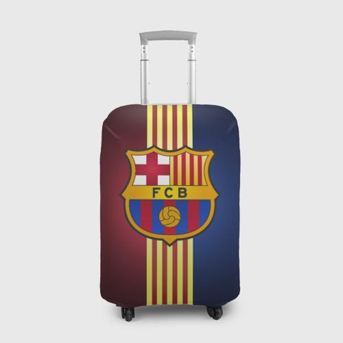 Чехол для чемодана 3D Barcelona FC